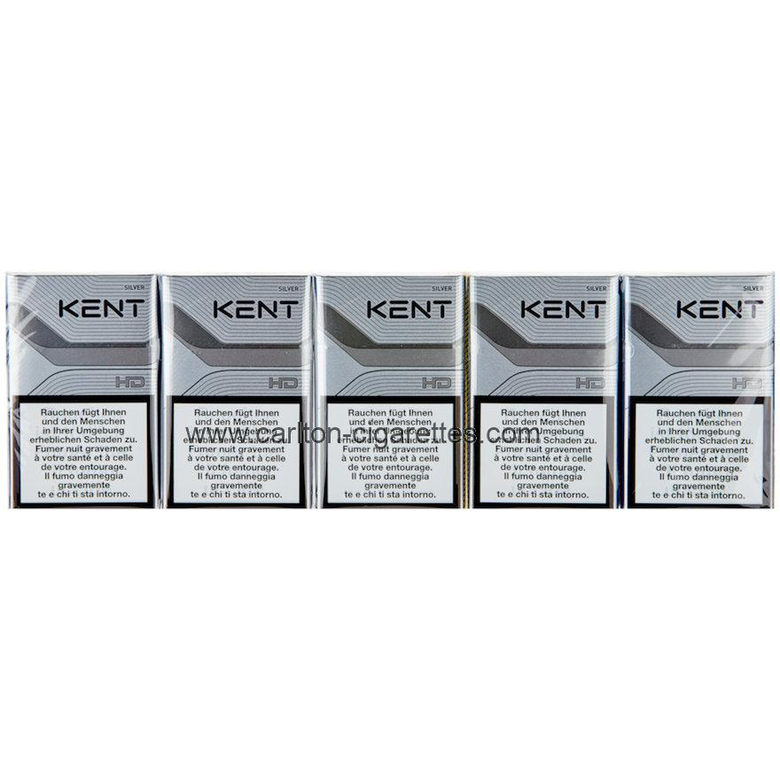 Kent Smooth+ Silver Neo Box Cigarette Carton