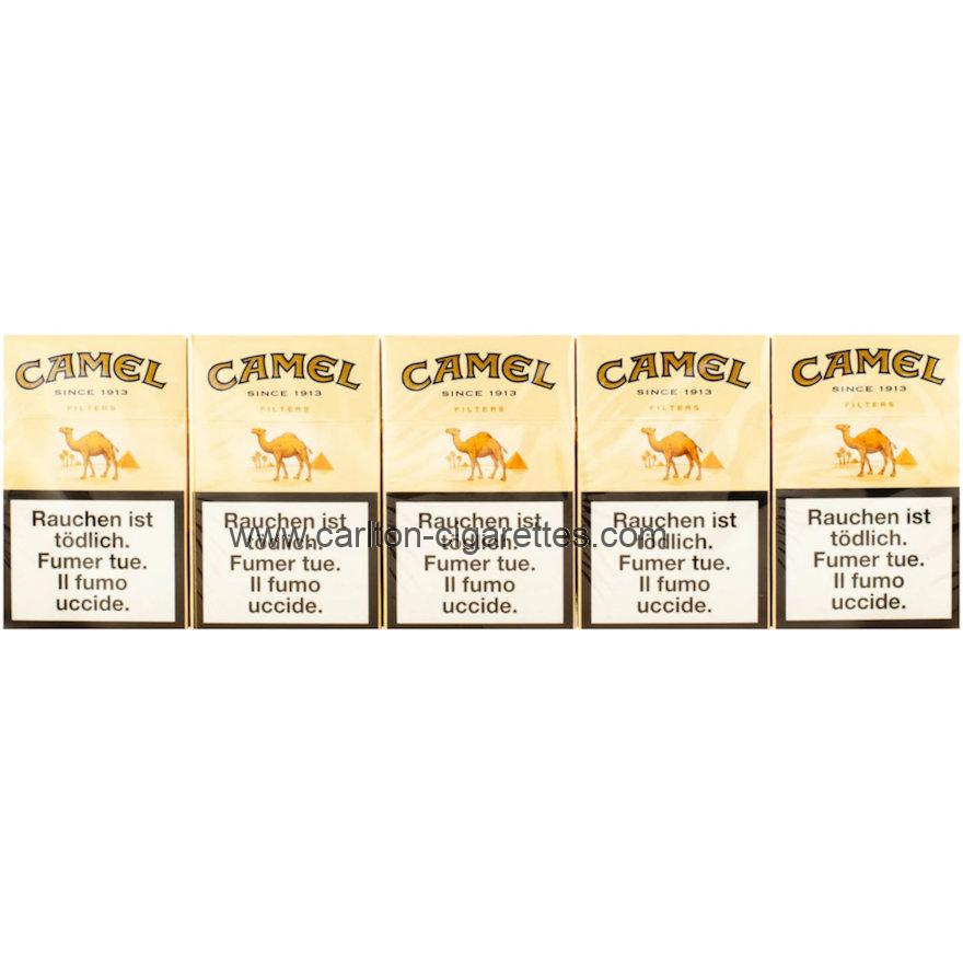 Camel Filter Box Cigarette Carton
