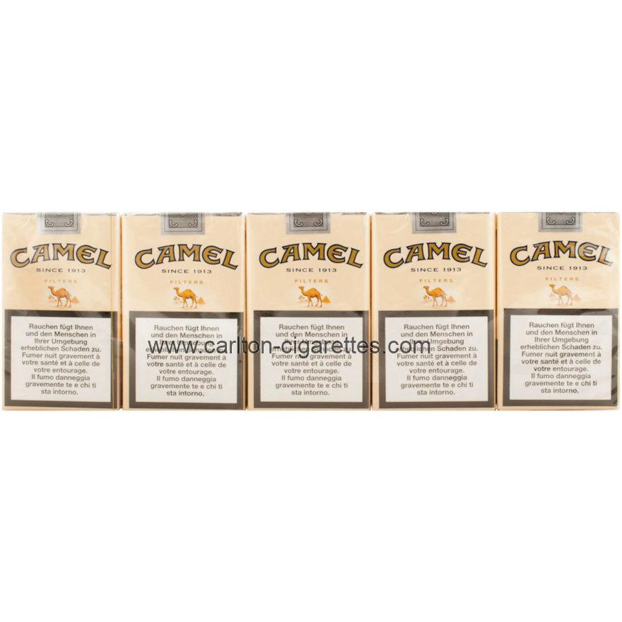 Camel Filter Soft Cigarette Carton