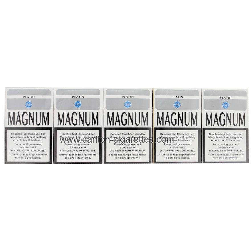 Bitcoin purchase Magnum Platin Box Cigarette Carton