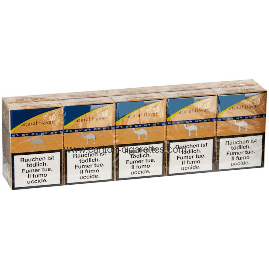 Camel Natural Flavor Filter Box Cigarette Carton
